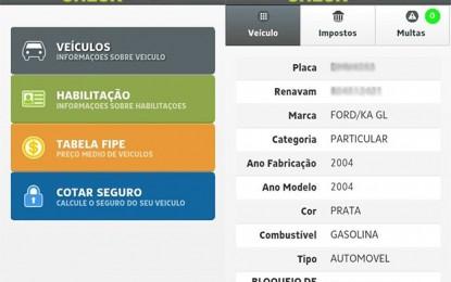 APP Autocheck – Aplicativo monitora a situação legal de Veículos e CNH