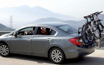 Saiba como transportar a bike no carro sem ser multado