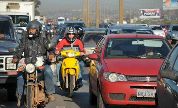 Acidentes com moto quase triplicam em três anos