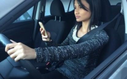 Comissão destina parte das multas para campanhas contra uso de celular ao volante