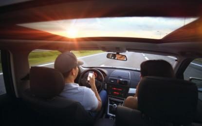 Esqueça o celular enquanto dirige