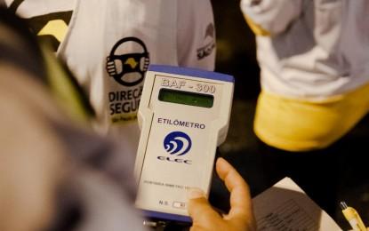 Detran.SP esclarece mitos relacionados ao teste do bafômetro