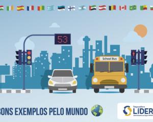 Conheça bons exemplos de políticas para redução de acidentes no trânsito