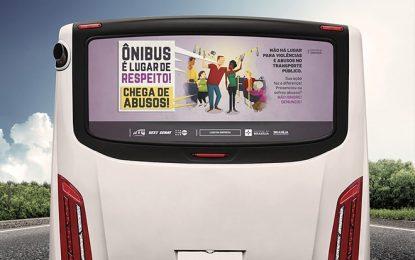Campanha busca engajar sociedade na luta contra abuso sexual no transporte público