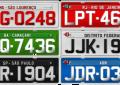 Veja como as placas de identificação de veículos evoluíram no Brasil