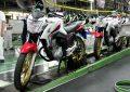 Produção de motos sobe 34,7% em julho, diz Abraciclo