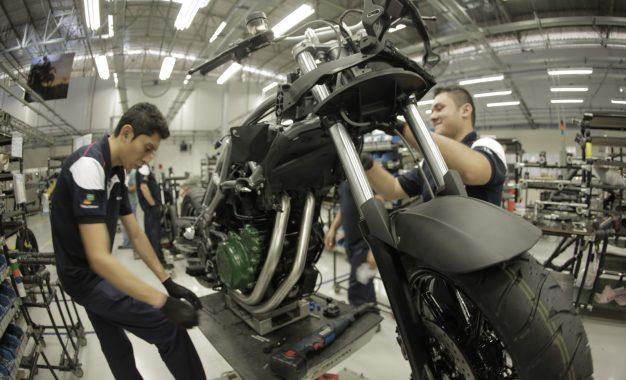 Produção de motos sobe em agosto, melhor mês desde outubro de 2015