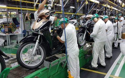 Produção de motos cai 4,8% em julho, diz Abraciclo