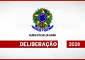 DELIBERAÇÃO Nº 185, DE 19 DE MARÇO DE 2020